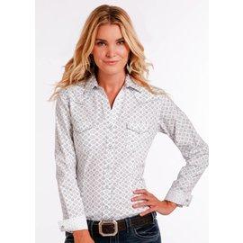 Panhandle Women's Rough Stock Snap Front Shirt R4S2212