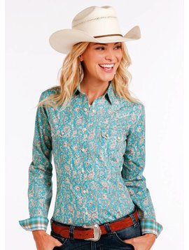 Panhandle Women's Rough Stock Snap Front Shirt R4S2194