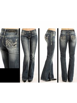 Rock and Roll Cowgirl Women's Rock & Roll Cowgirl Jean W1-4501