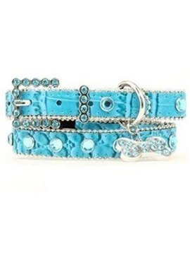Blazin' Roxx Blazin Roxx Faux Exotic Dog Collar