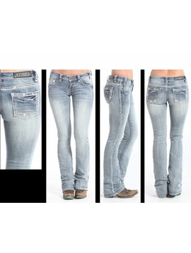 Rock and Roll Cowgirl Women's Rock & Roll Cowgirl Jean W6-5612