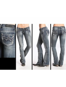 Rock and Roll Cowgirl Women's Rock & Roll Cowgirl Jean W6-5613