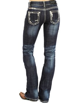 Rock and Roll Cowgirl Women's Rock & Roll Cowgirl Jean W1-8522