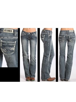 Rock and Roll Cowgirl Women's Rock & Roll Cowgirl Jean W7-5627