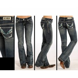 Rock and Roll Cowgirl Women's Rock & Roll Cowgirl Jean W0-4485