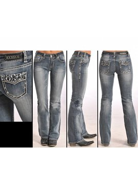 Rock and Roll Cowgirl Women's Rock & Roll Cowgirl Jean W1-5625