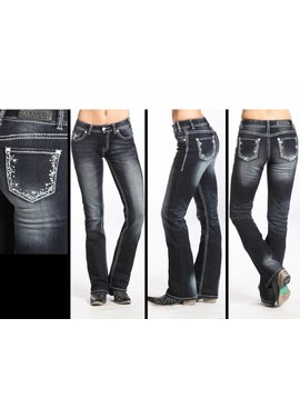 Rock and Roll Cowgirl Women's Rock & Roll Cowgirl Jean W1-5618