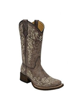 Corral Children's/Youth's Corral Western Boot A2980