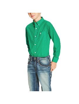 Ariat Boy's Ariat Oswego Button Down Shirt 10020358