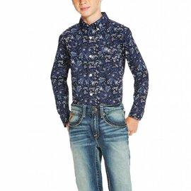 Ariat Boy's Ariat Olex Button Down Shirt 10020357
