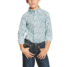 Ariat Boy's Ariat Ione Button Down Shirt 10019645