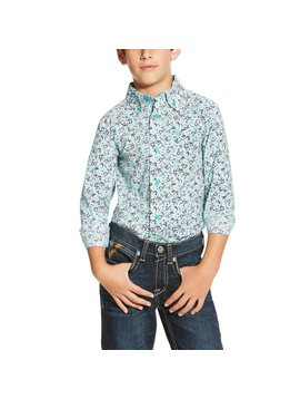 Ariat Boy's Ariat Ione Button Down Shirt 10019645