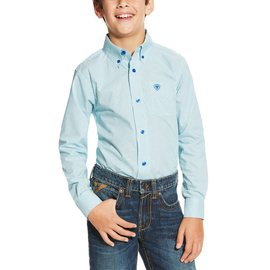 Ariat Boy's Ariat Irondale Button Down Shirt 10019648