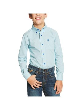 Ariat Boy's Ariat Irondale Button Down Shirt 10019648