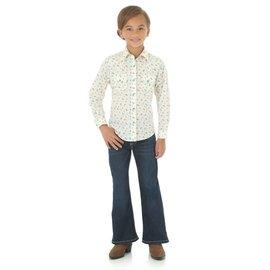 Wrangler Girl's Wrangler Snap  Front Shirt GW3071M