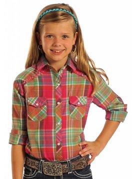 Panhandle Girl's Panhandle Snap Front Shirt C6S7336