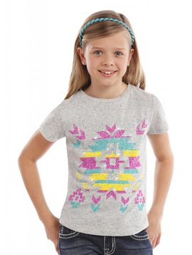 Rock and Roll Cowgirl Girl's Rock & Roll Cowgirl T-Shirt G3T6414 C5