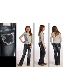 Rock and Roll Cowgirl Girl's Rock & Roll Cowgirl Jean G5-4516 C3