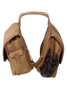 Cashel CASHEL DELUXE SADDLE BAG 12'' X 10'' X 5'' SB-DX-BRN-II