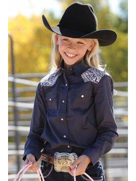 Cruel Girl Girl's Cruel Girl Snap Front Shirt CTW3210009
