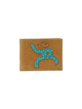 Hooey Men's Hooey Bi-Fold Wallet 1625161W3