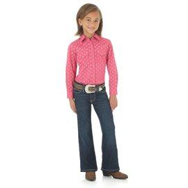 Wrangler Girl's Wrangler Snap Front Shirt GW3031K