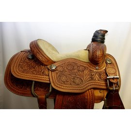 "Lazy ""L"" Saddlery LAZY ""L"" ROPING SADDLE"