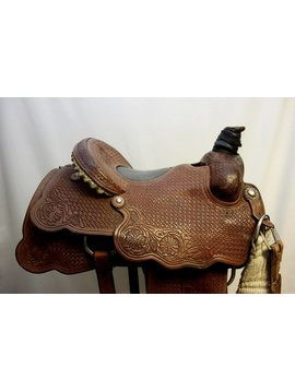 "Scott Thomas SCOTT THOMAS ""BEERS 'N' STEERS"" ROPER SADDLE 15"""