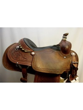 MO WADE MARTIN CALF ROPER SADDLE