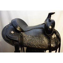 BLACK CUSTOM SADDLE SET