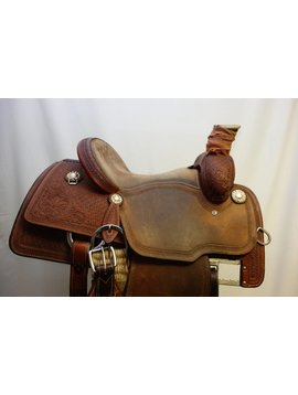 Martin MARTIN 1/2 TOOLED TR ROPING SADDLE