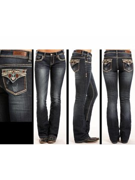 Rock and Roll Cowgirl Women's Rock & Roll Rival Jean Cowgirl W6-3415