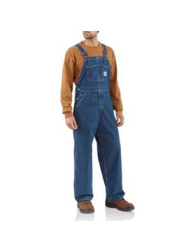 Carhartt Men's Carhartt Unlined Denim Bib Overall R07-DST