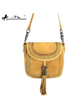 Montana West Montana West Crossbody Bag RLC-L088 TAN