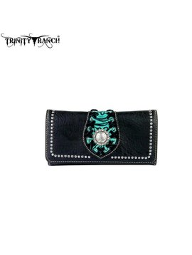 Montana West Trinity Ranch Wallet TR36-W002 BK