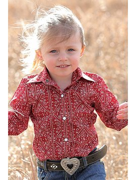 Cruel Girl Infant Girl's Cruel Girl Snap Front Shirt CTW3302004