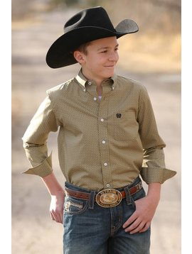 Cinch Boy's Cinch Button Down Shirt MTW7060169