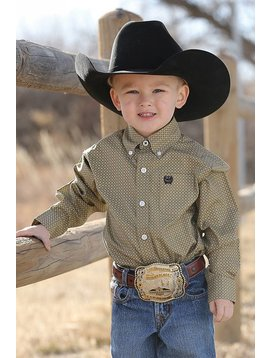 Cinch Boy's Toddler Button Down Shirt MTW7061169