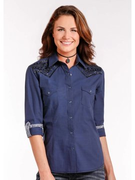 Panhandle Women's Rough Stock Snap Front Shirt R4S4248