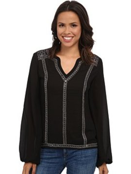 Rock and Roll Cowgirl Women's Rock & Roll Cowgirl Blouse B4-4461 C3