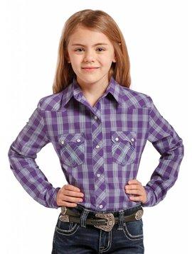 Panhandle Girl's Panhandle Snap Front Shirt C6S4545