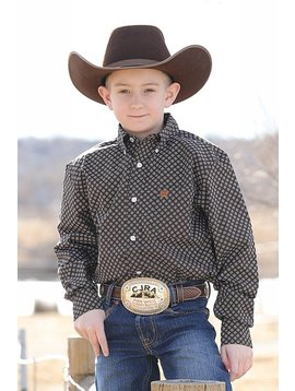 Cinch Boy's Cinch Button Down Shirt MTW7060170