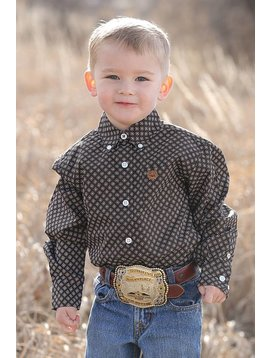 Cinch Toddler Boy's Cinch Button Down Shirt  MTW7061170