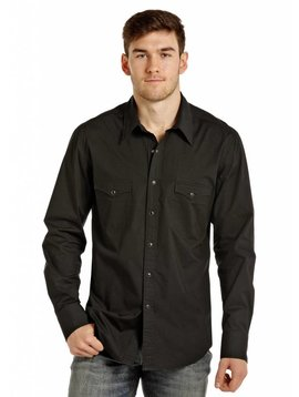 ROCK&ROLL COWBOY Men's Rock & Roll Cowboy Snap Front Shirt B2S4135