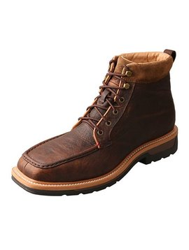 Twisted X Men's Twisted X Lite Cowboy Steel Toe Waterproof Work Boot MLCALW1