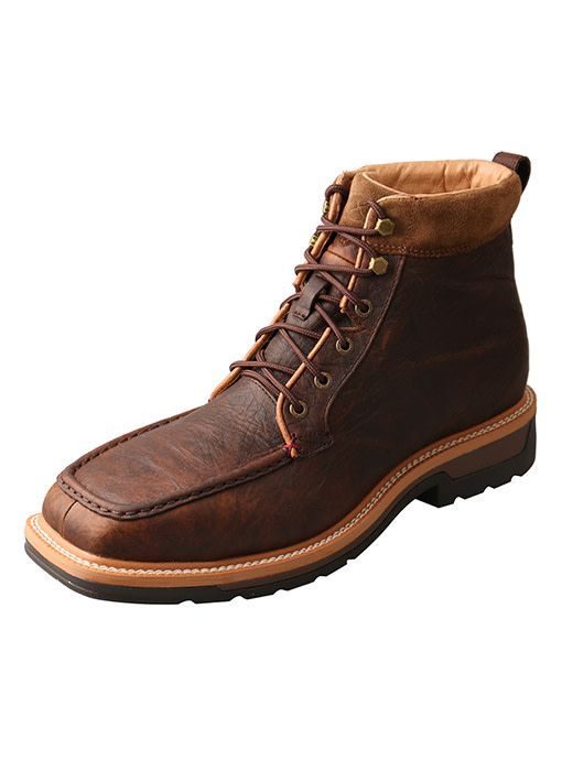 Twisted X Men's Twisted X Lite Cowboy Steel Toe Waterproof Work Boot  MLCALW1 ...
