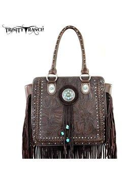 Trinity Ranch Trinity Ranch Fringe Handbag TR21-8393 CF