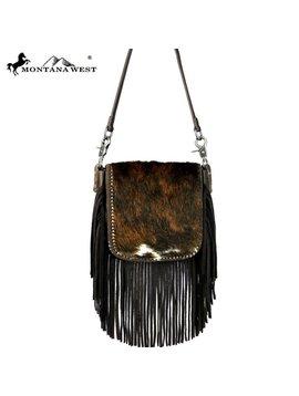 Trinity Ranch Montana West Hair-On Crossbody Bag RLC-L081 CF