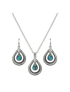 Montana Silversmiths Montana Silversmith Jewelry Set JS3818