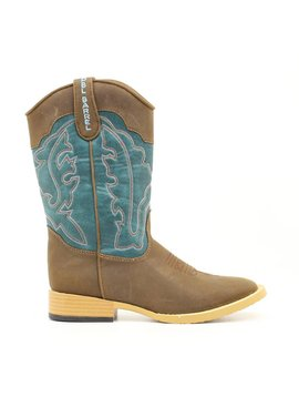 Double Barrel Youth's Double Barrel Open Range Boot 4471602 C5